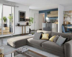 Achat / Vente appartement neuf Saint-Ouen proche centre (93400) - Réf. 850