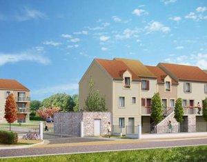 Achat / Vente appartement neuf Saint-Pierre proche forêt de Montmorency (95560) - Réf. 2272