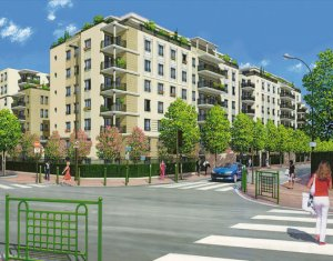 Achat / Vente appartement neuf Suresnes éco-quartier (92150) - Réf. 1363