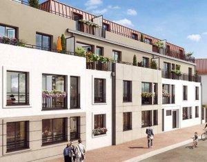 Investissement locatif : Appartement en loi Pinel  Verneuil-sur-Seine à 3 minutes à pied de la gare (78480) - Réf. 4260