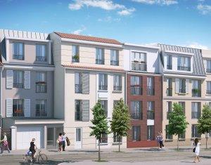 Achat / Vente appartement neuf Villejuif quartier pavillonnaire proche du métro (94800) - Réf. 378