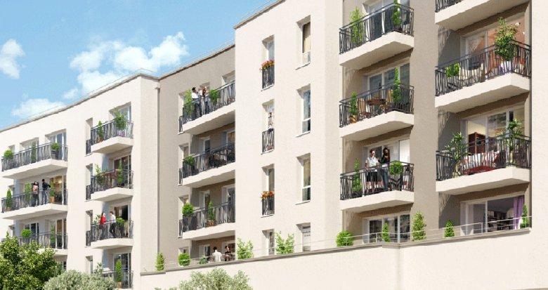 Achat / Vente appartement neuf Bailly-Romainvilliers au cœur de la ville nouvelle de Marne-la-Vallée (77700) - Réf. 241