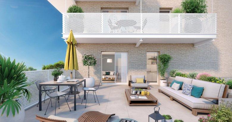 Achat / Vente appartement neuf Bondy sur les rives du canal de l'Ourcq (93140) - Réf. 4041