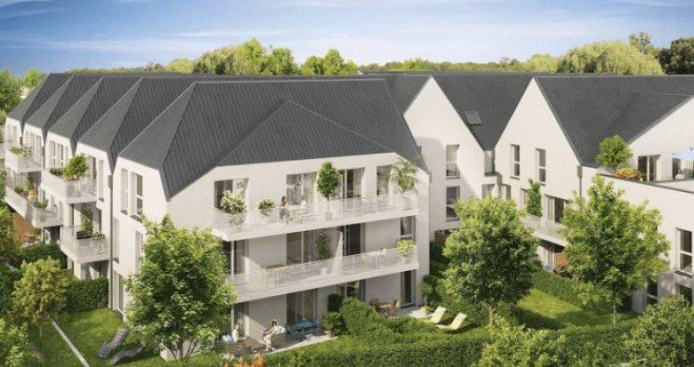 Achat / Vente appartement neuf Bonnières-sur-Seine à 550 mètres du Transilien J (78270) - Réf. 4023