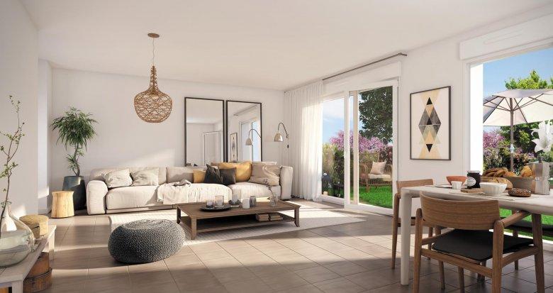 Achat / Vente appartement neuf Brétigny-sur-Orge écoquartier Clause Bois Badeau (91220) - Réf. 3588