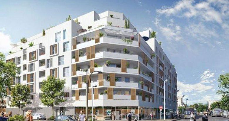 Achat / Vente appartement neuf Cergy-Pontoise quartier Axe Horloge-Majeur (95000) - Réf. 1573