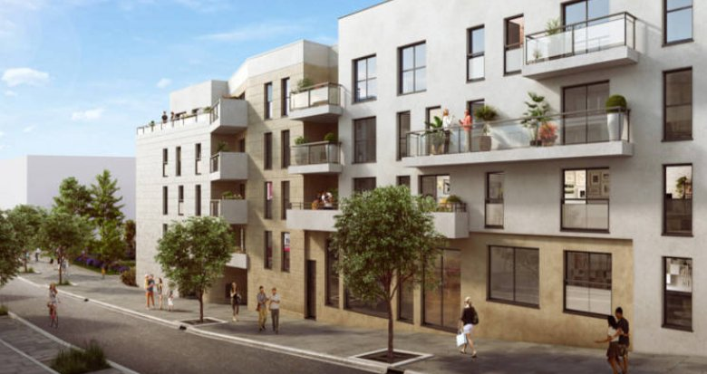 Achat / Vente appartement neuf Châtenay-Malabry écoquartier Lavallée (92290) - Réf. 3837