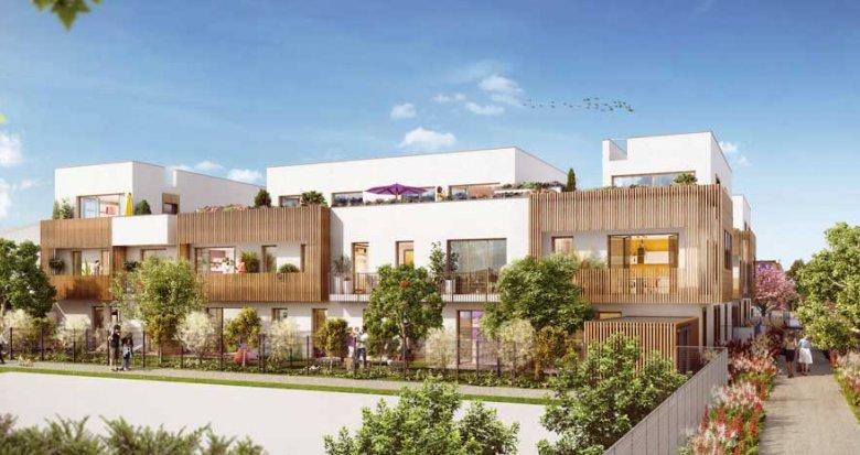 Achat / Vente appartement neuf Chevilly-Larue éco-quartier Les Portes d'Orly (94550) - Réf. 2177