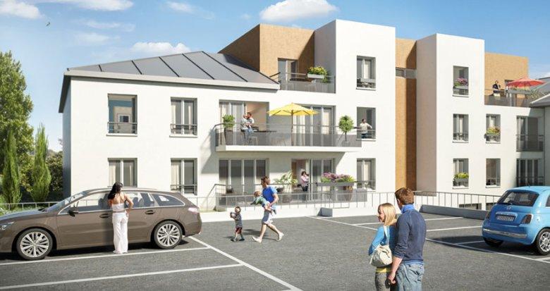 Achat / Vente appartement neuf Crécy-la-Chapelle proche des canaux de la vielle ville (77580) - Réf. 712