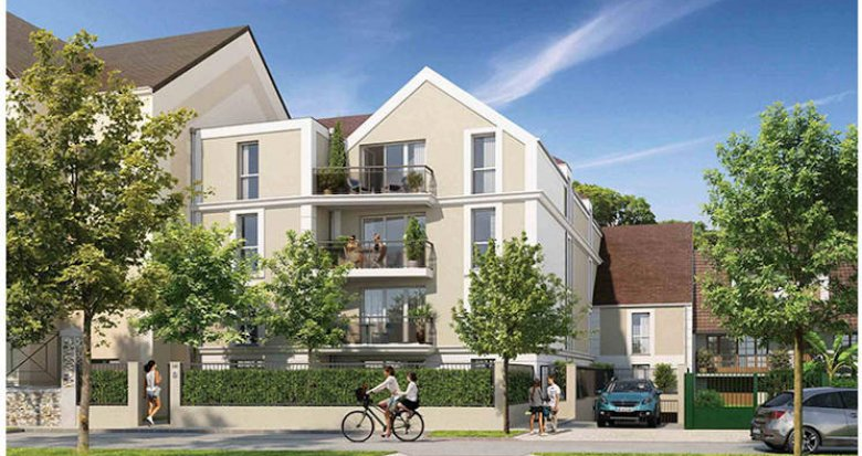 Achat / Vente appartement neuf Dammarie-les-Lys  à 30 min de Paris en transports (77190) - Réf. 5238