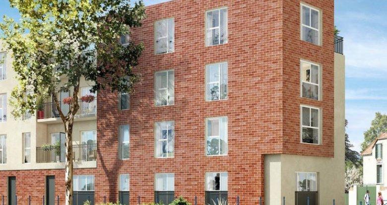 Achat / Vente appartement neuf Dammarie-les-Lys à 500 mètres du RER (77190) - Réf. 4823