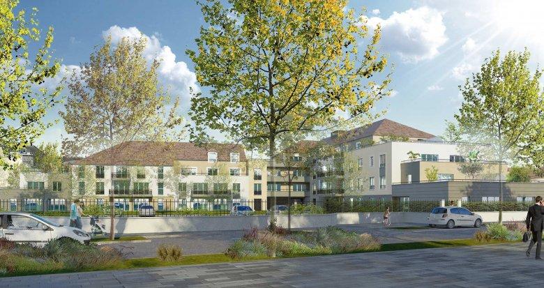Achat / Vente appartement neuf Dammarie-les-Lys au cœur du quartier du Petit Dammarie (77190) - Réf. 3384