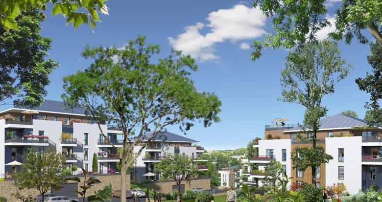 Achat / Vente appartement neuf l'Etang-la-Ville au cœur de la forêt de Marly-le-Roi (78620) - Réf. 1688