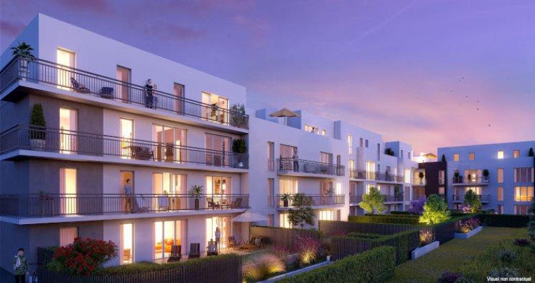 Achat / Vente appartement neuf Meaux quartier centre hospitalier (77100) - Réf. 2713