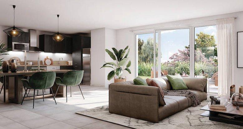 Achat / Vente appartement neuf Melun entre ville et nature au coeur du quartier La Préfecture (77000) - Réf. 5345