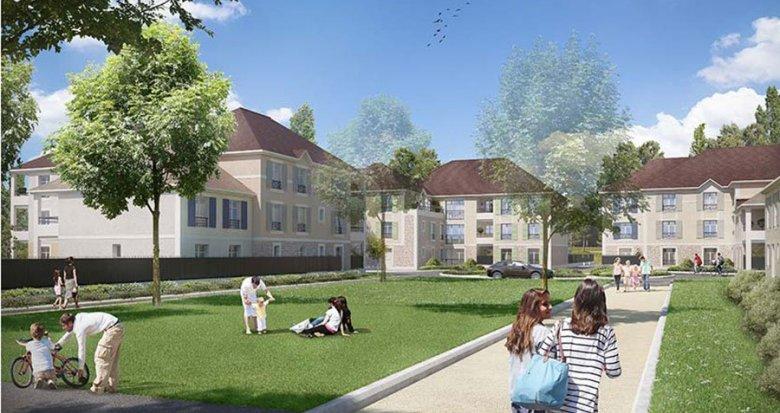 Achat / Vente appartement neuf Rubelle quartier Les Trois Noyers (77950) - Réf. 1842