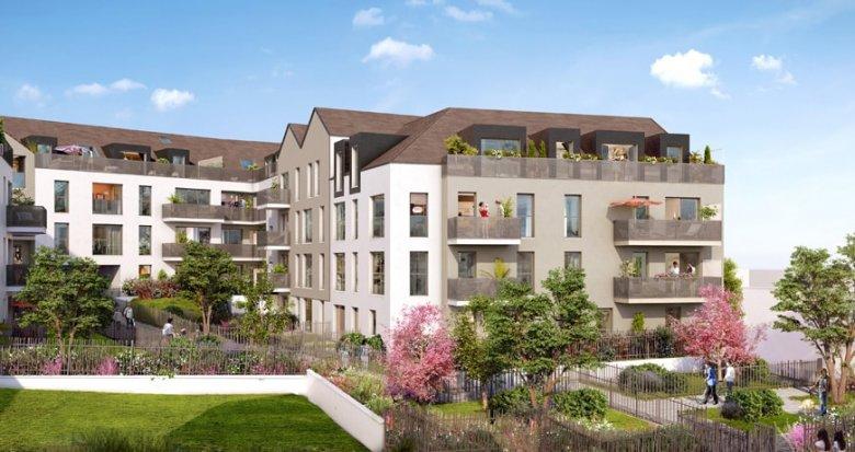 Achat / Vente appartement neuf Saint-Arnoult-en-Yaux portes de Paris velines (78730) - Réf. 2353