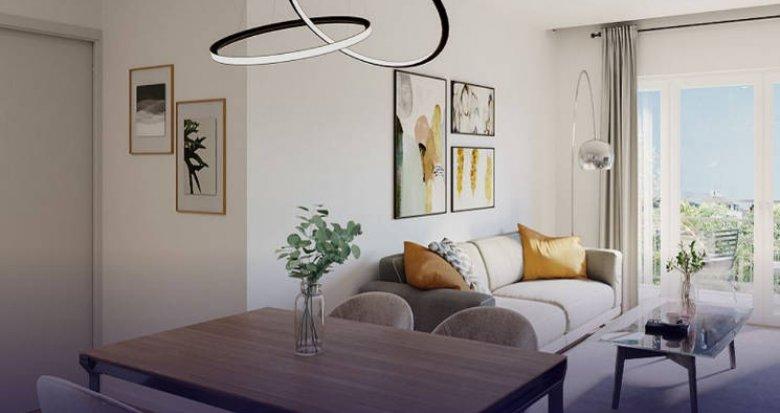 Achat / Vente appartement neuf Saint-Fargeau-Ponthierry proche RER D (77310) - Réf. 4487