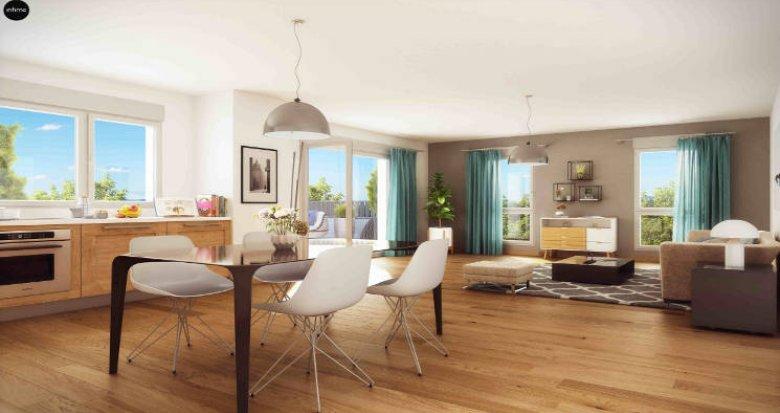 Achat / Vente appartement neuf Saulx-les-Chartreux proche de la Ville Du Bois (91160) - Réf. 3188