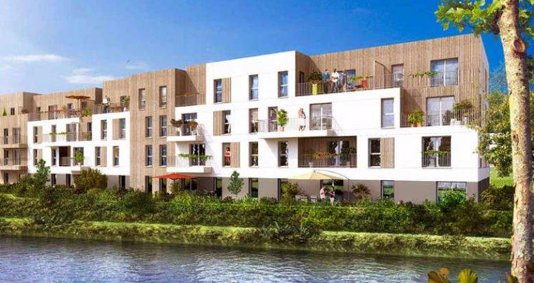 Achat / Vente appartement neuf Villenoy proche de la gare de Meaux (77124) - Réf. 1515