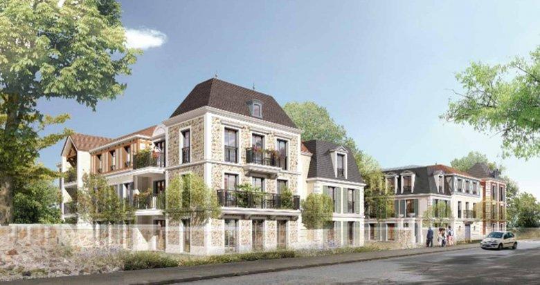 Achat / Vente appartement neuf Villiers-sur-Marne proche gare RER E (94350) - Réf. 3643